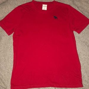 Abercrombie kids red T-shirt: size youth medium